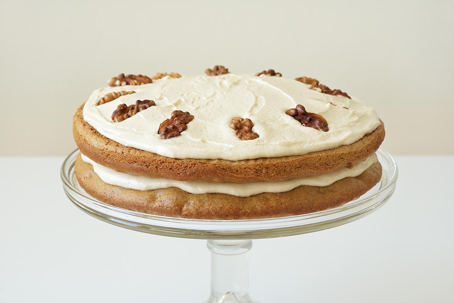 Walnut And Espresso Cake